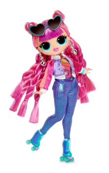 559788xx3 567196 LOL Surprise OMG Doll Series 3 Disco Sk8er PP 01