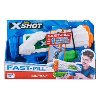 56138-ZURU X-SHOT- WATER WARFARE-WATER BLASTER- Fast Fill Blaster-1